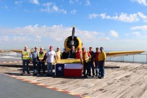 2014 Corpus USS Lexington Verterans