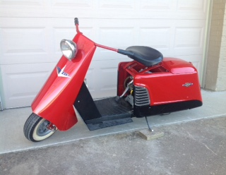 Morris scooter