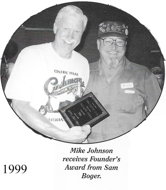 1999 Founder Mike Johnson